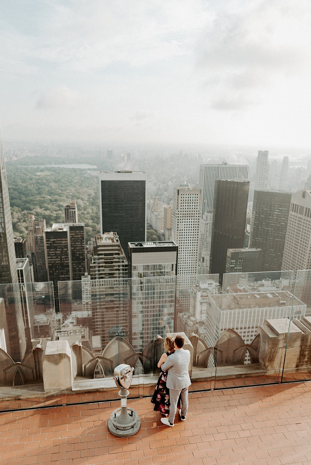 Top Of The Rock Engagement Session NYC Engagement Locations New York Wedding Photographer 06