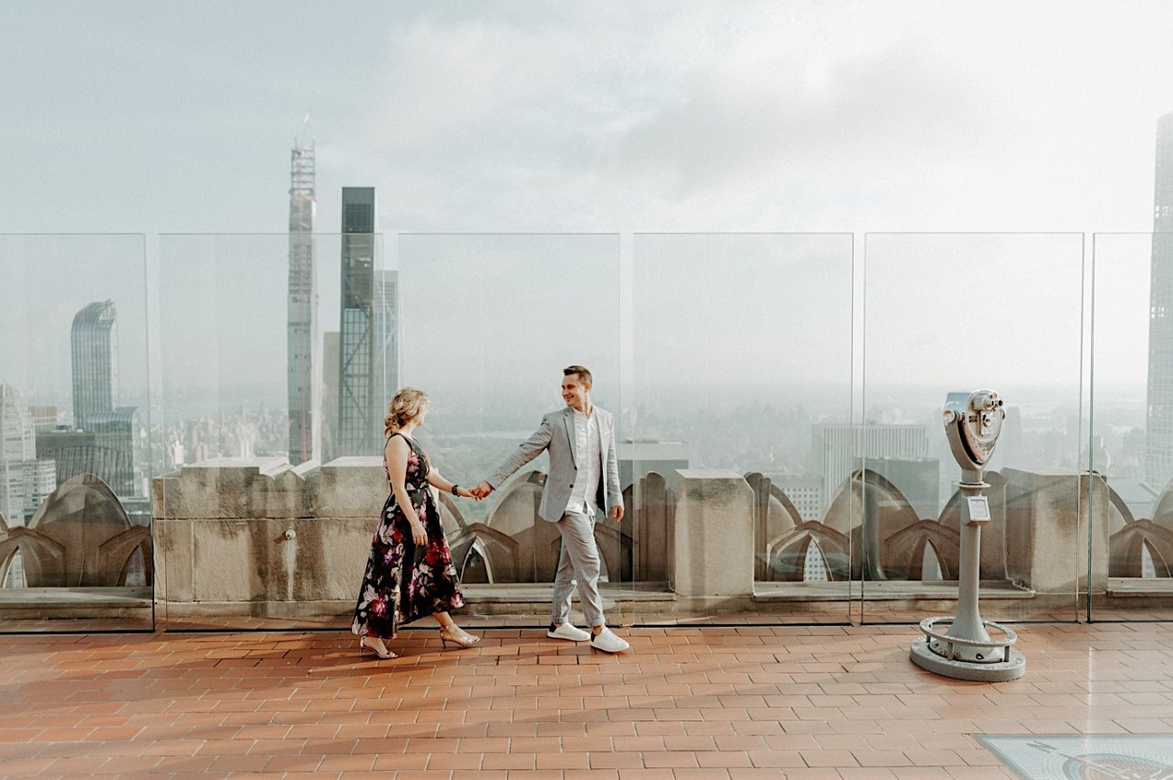 Top Of The Rock Engagement Session NYC Engagement Locations New York Wedding Photographer 08