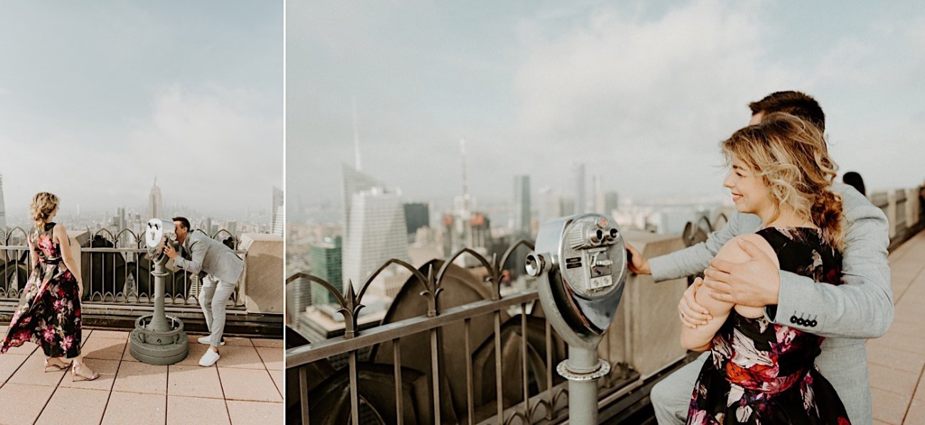 Top Of The Rock Engagement Session NYC Engagement Locations New York Wedding Photographer 12