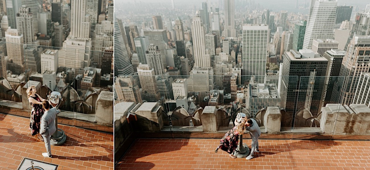 Top Of The Rock Engagement Session NYC Engagement Locations New York Wedding Photographer 15