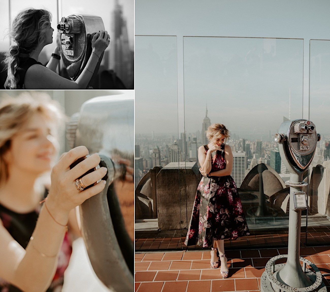 Top Of The Rock Engagement Session NYC Engagement Locations New York Wedding Photographer 20
