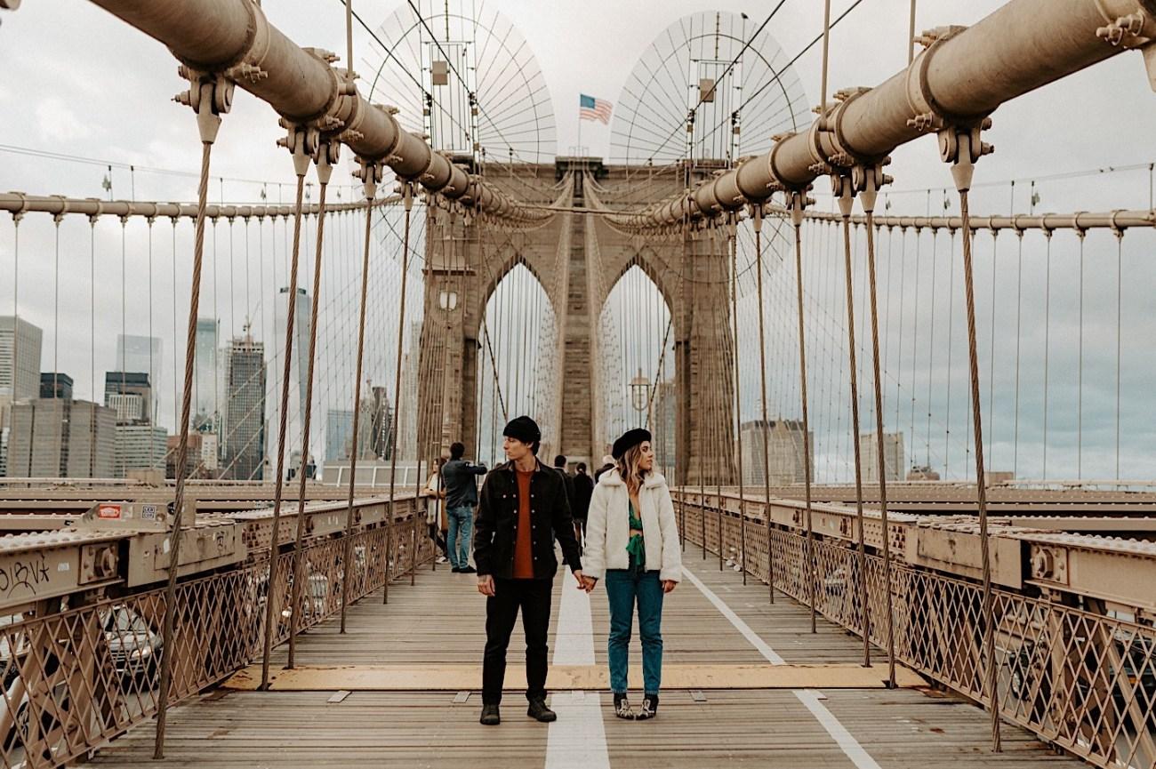 Brooklyn Bridge Engagement Photos Brooklyn Engagement Session 010