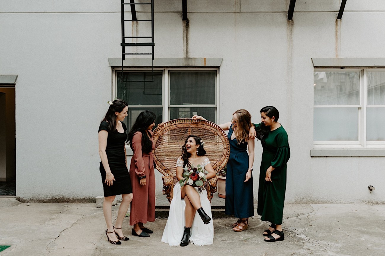 Brooklyn Elopement NYC Rooftop Wedding New York Wedding Photographer 011