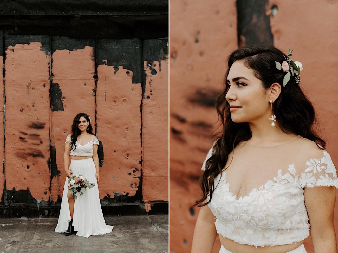 Brooklyn Elopement NYC Rooftop Wedding New York Wedding Photographer 037