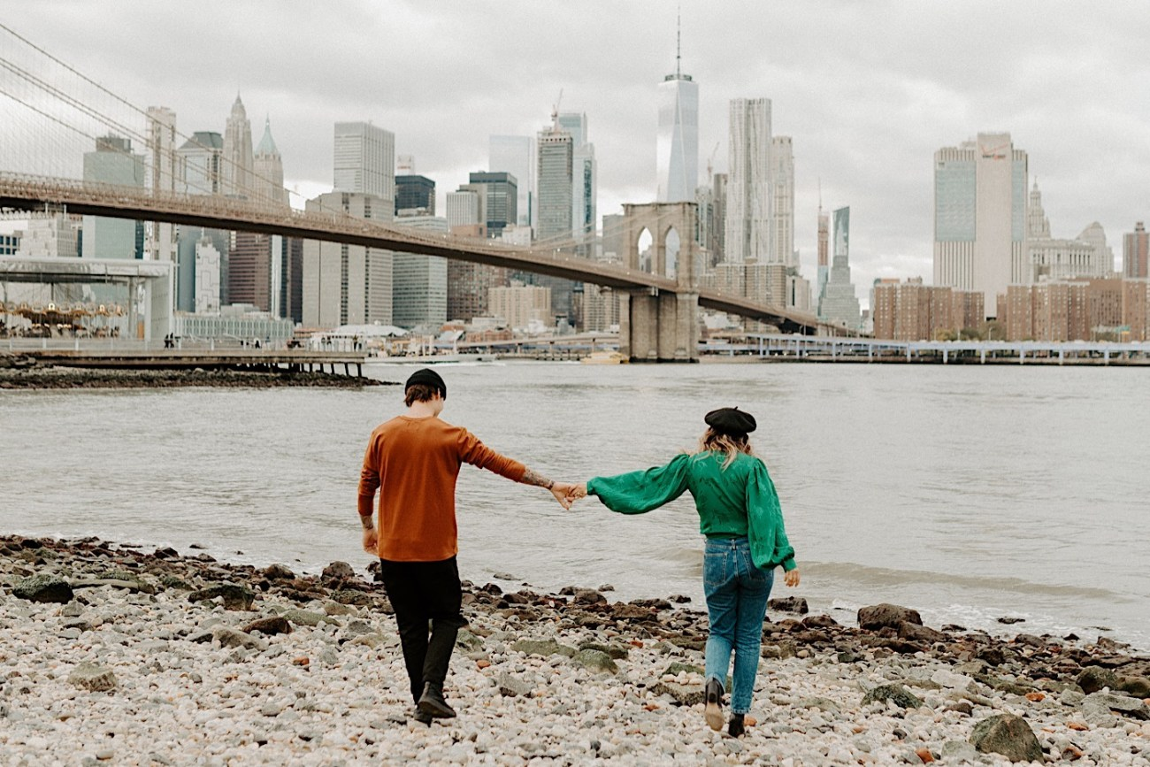 Dumbo Engagement Session New York Wedding Photographer 008