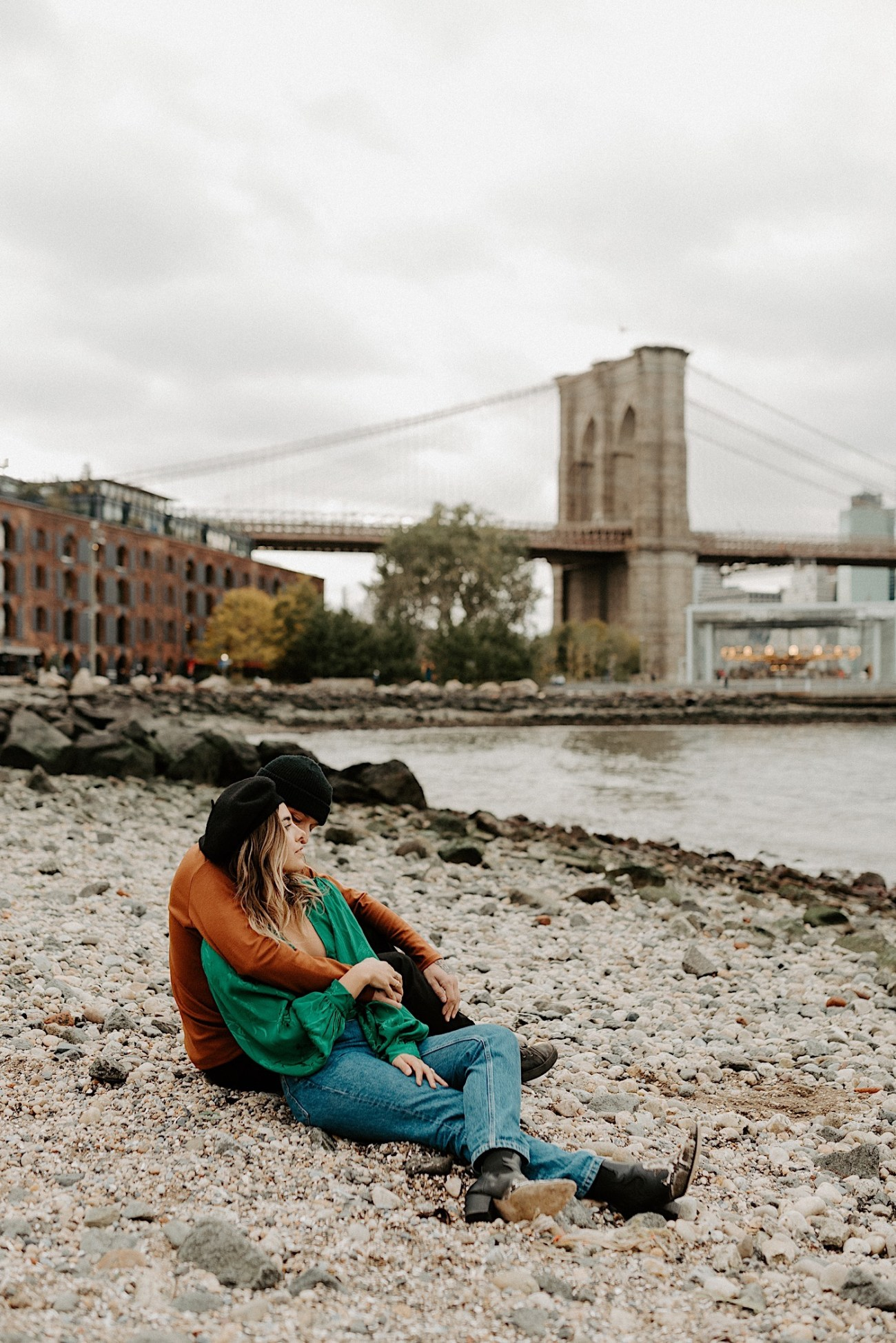 Dumbo Engagement Session New York Wedding Photographer 014