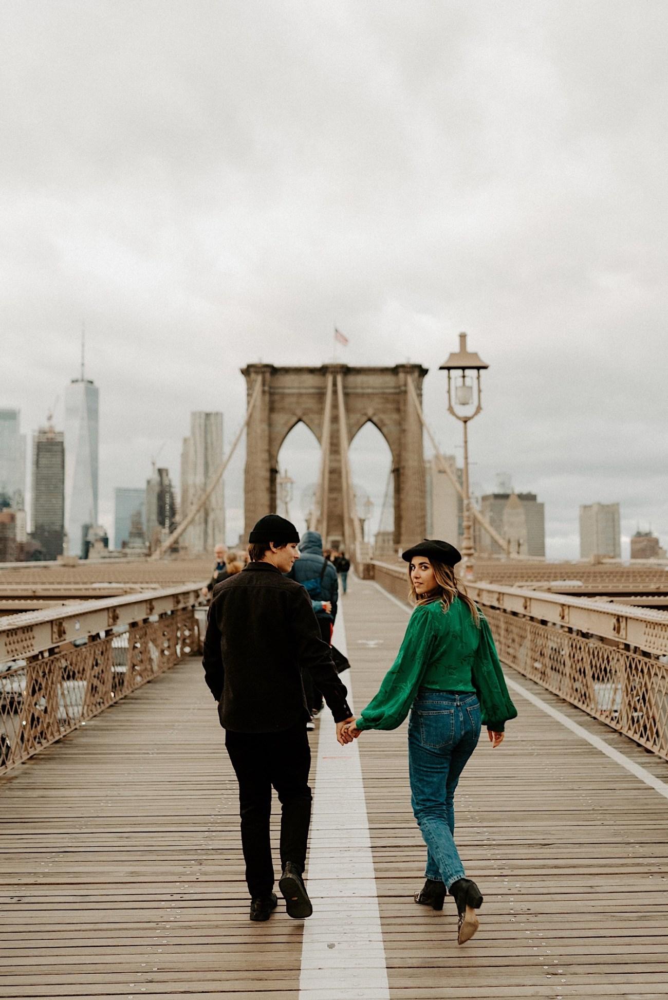 Dumbo Engagement Session New York Wedding Photographer 017