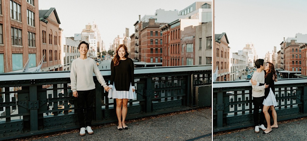 Highline NYC Engagement Session The Vessel Engagement Photos New York Wedding Photographer 06