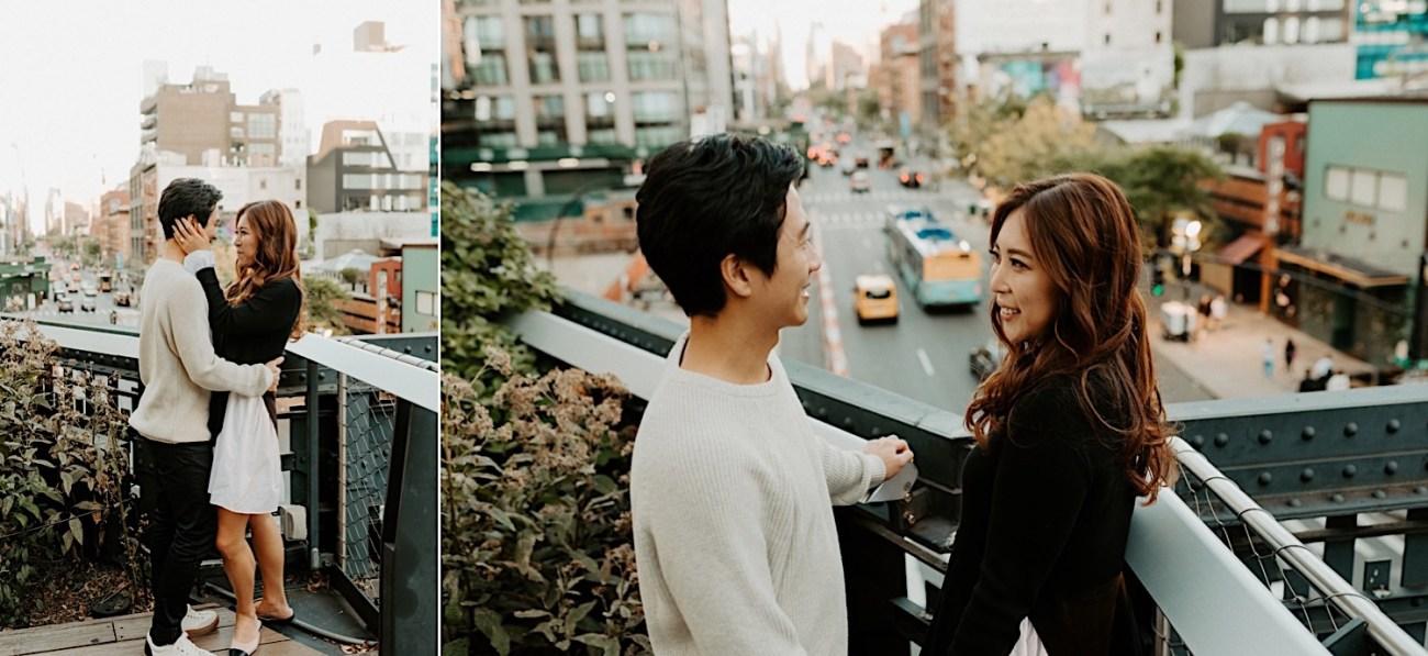 Highline NYC Engagement Session The Vessel Engagement Photos New York Wedding Photographer 16
