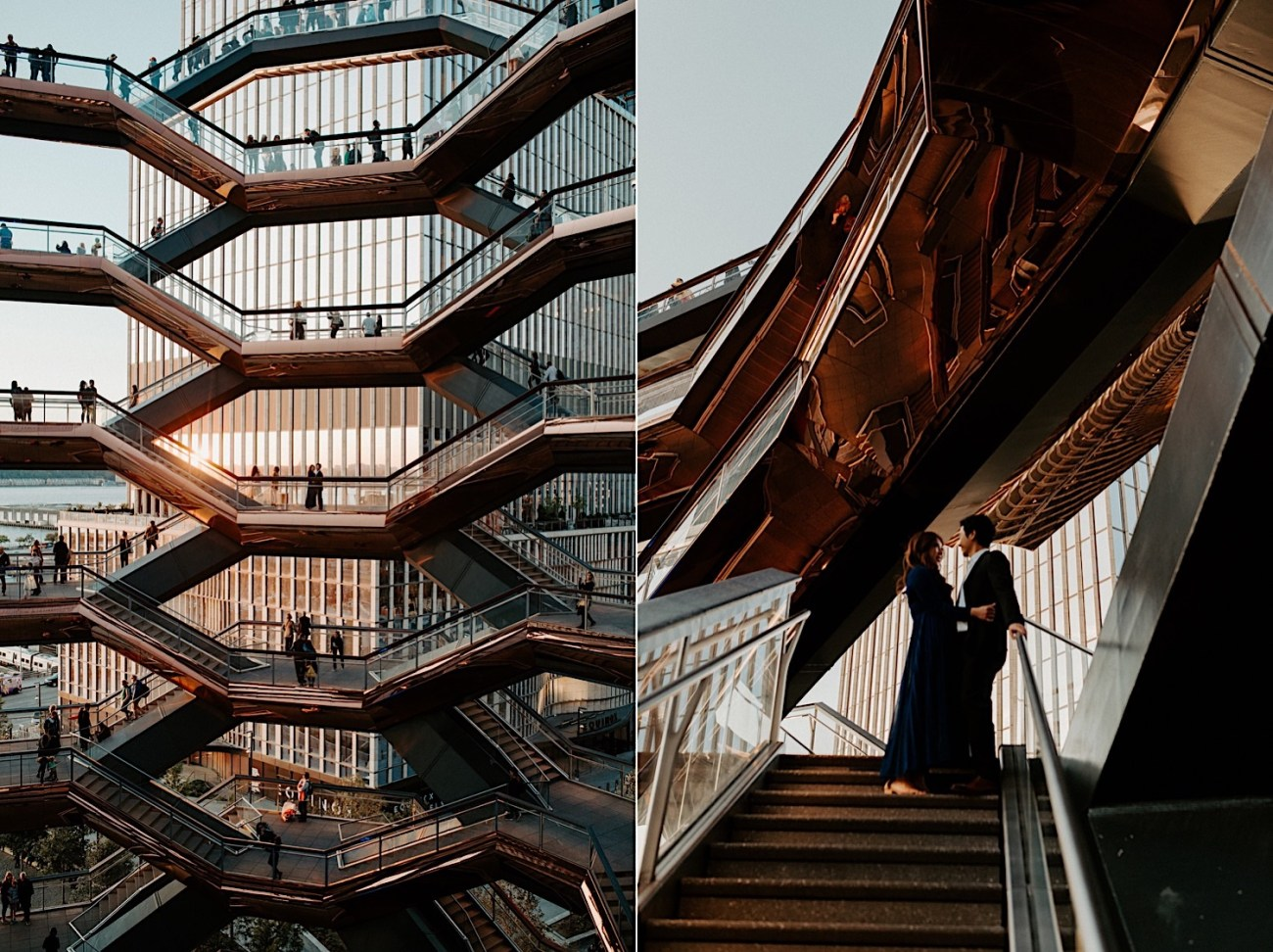 Highline NYC Engagement Session The Vessel Engagement Photos New York Wedding Photographer 24