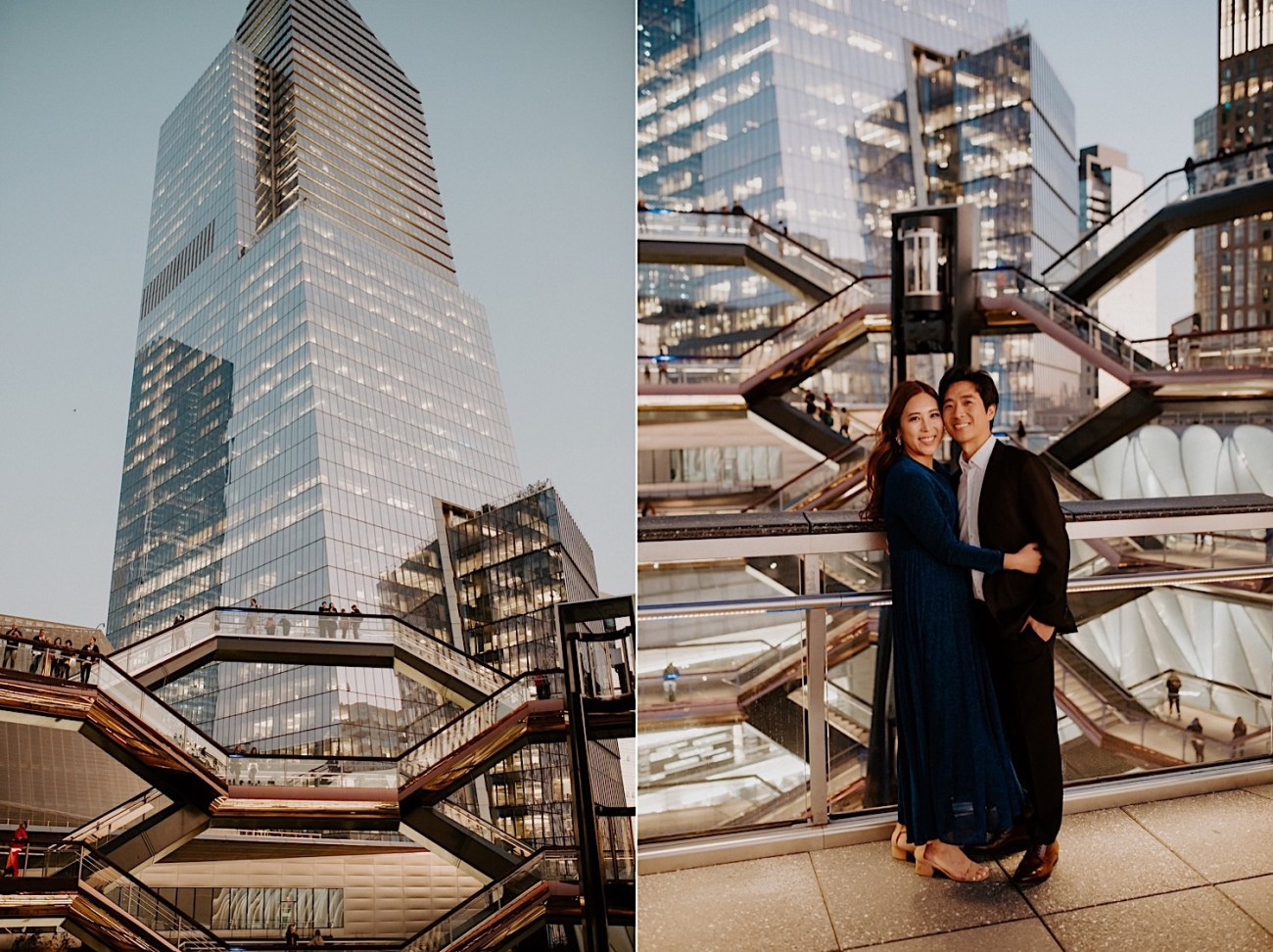 Highline NYC Engagement Session The Vessel Engagement Photos New York Wedding Photographer 30