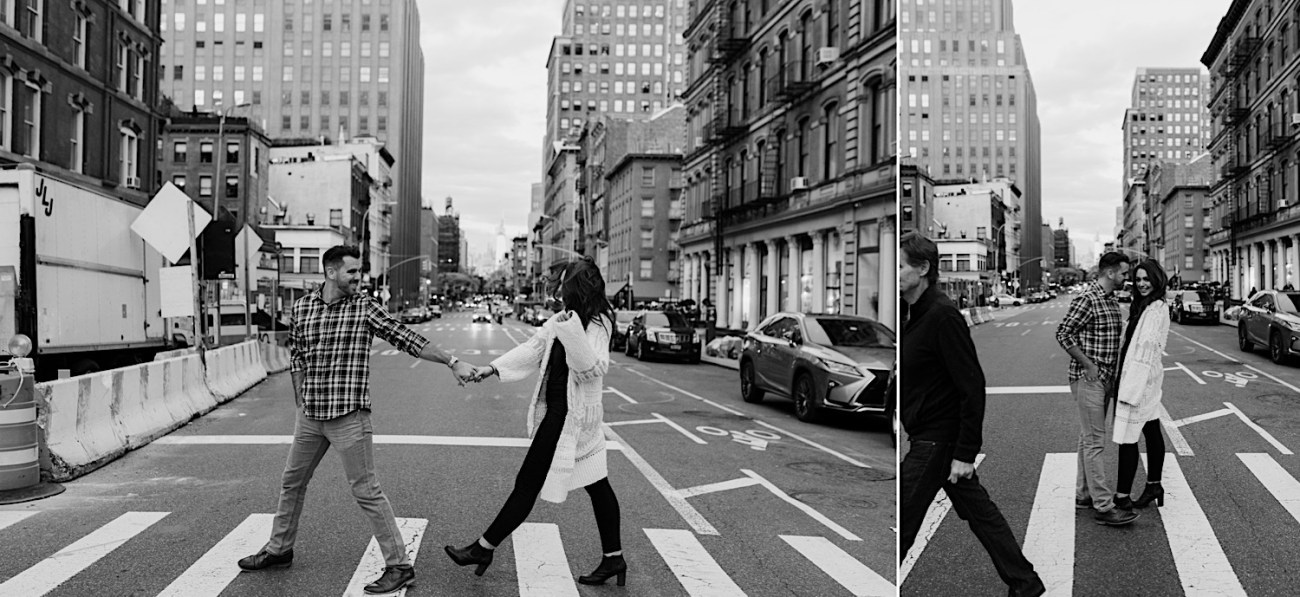 Downtown Manhattan Engagement Session NYC Engagement Photos New York Wedding Photographer 32