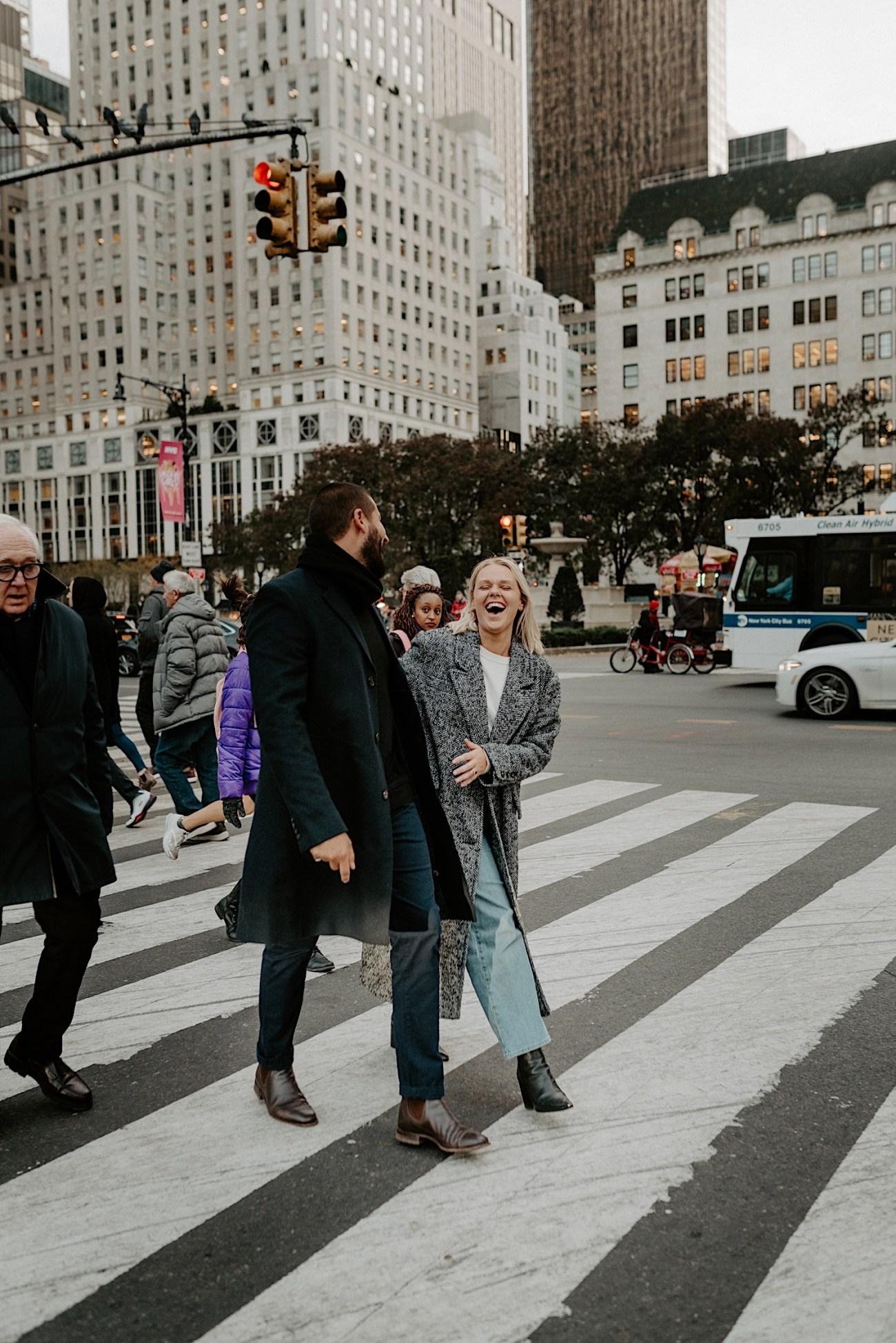 Manhattan Engagement Photos NYC Wedding Photographer New York Elopement Photographer 02