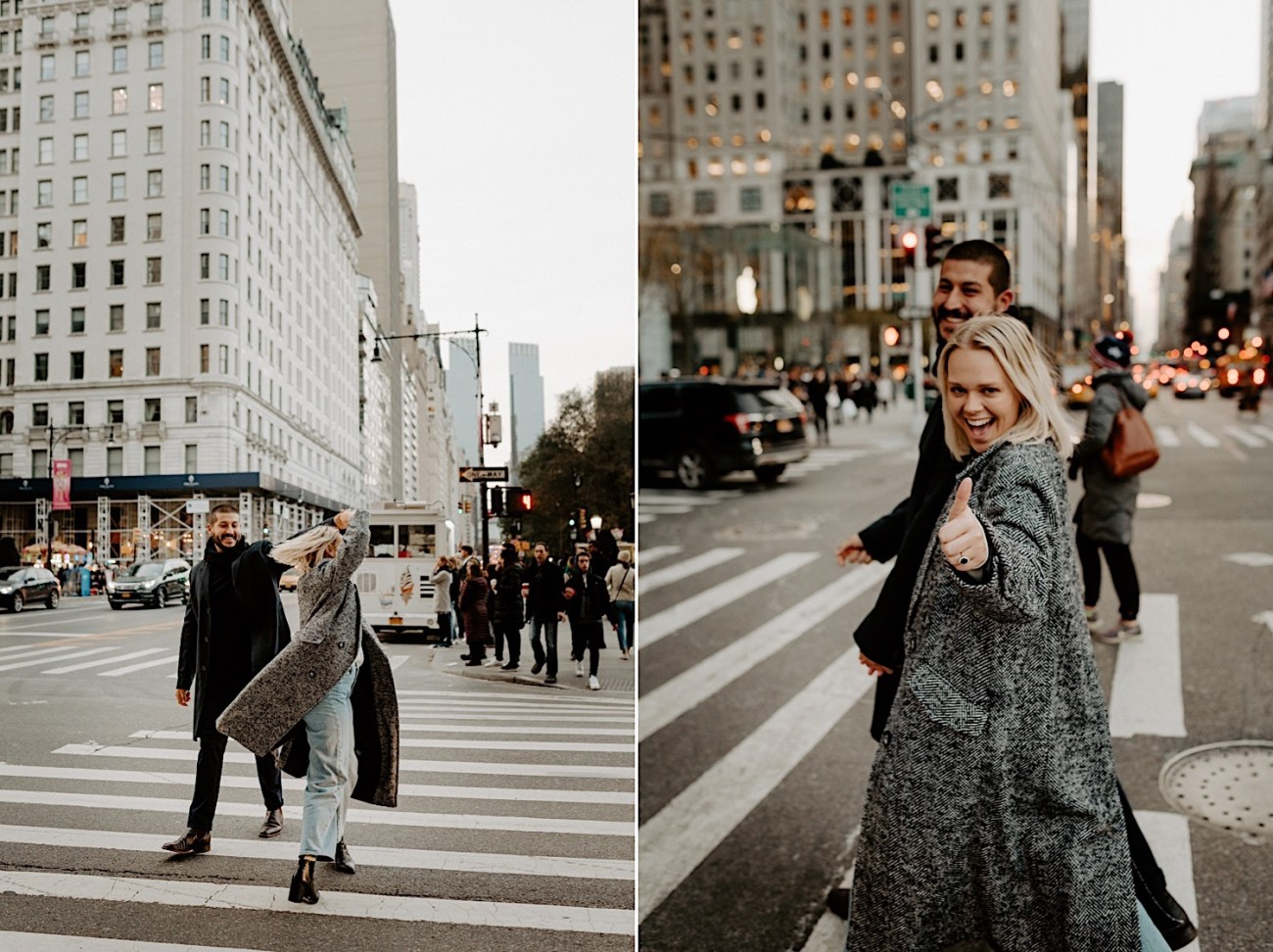 Manhattan Engagement Photos NYC Wedding Photographer New York Elopement Photographer 07