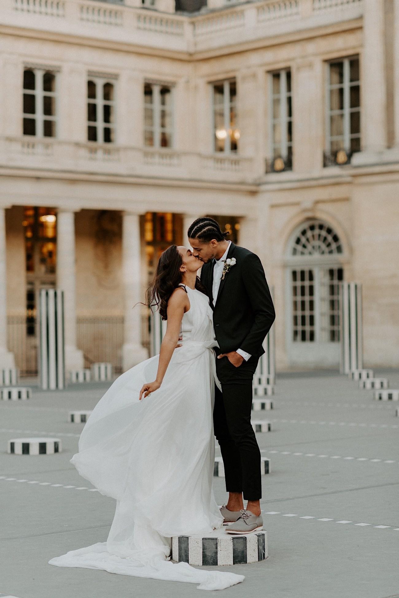 Paris Louvre Wedding Photos Paris Wedding Photographer Destination Wedding France Anais Possamai Photography 11