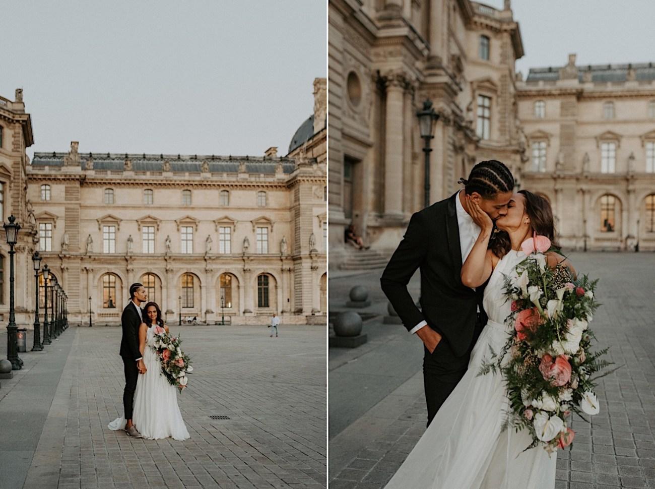 Paris Louvre Wedding Photos Paris Wedding Photographer Destination Wedding France Anais Possamai Photography 32