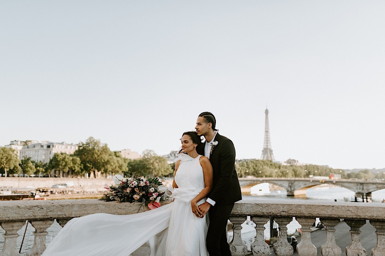 Paris Wedding Photos Paris Wedding Photographer Paris Photographe De Marriage Pont Alexandre Wedding Photos Anais Possamai Photography 18