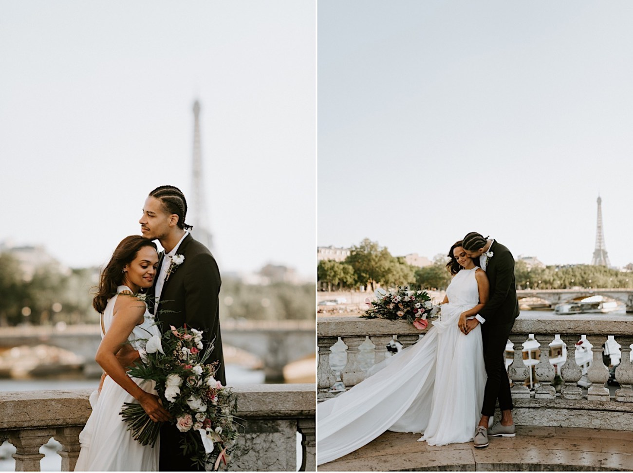 Paris Wedding Photos Paris Wedding Photographer Paris Photographe De Marriage Pont Alexandre Wedding Photos Anais Possamai Photography 19