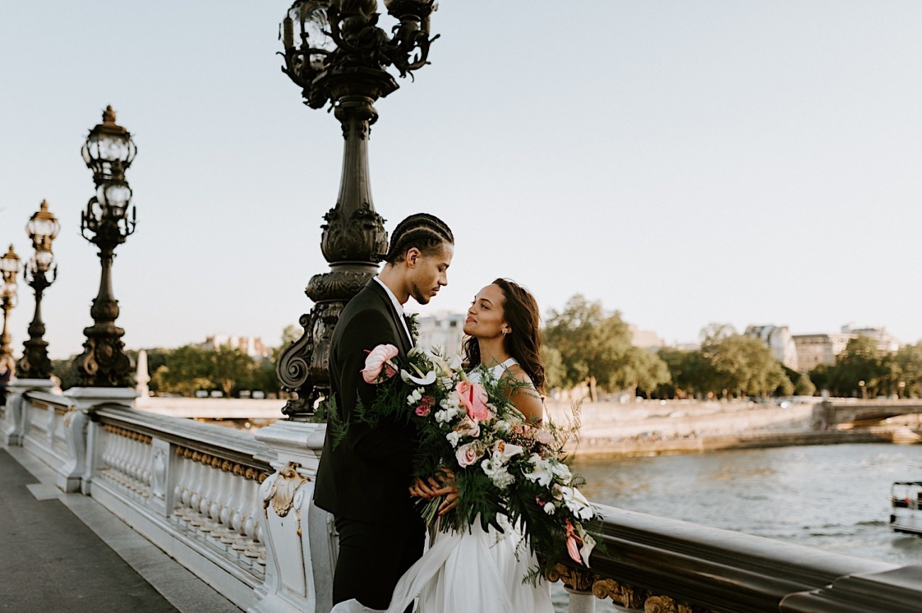 Paris Wedding Photos Paris Wedding Photographer Paris Photographe De Marriage Pont Alexandre Wedding Photos Anais Possamai Photography 26