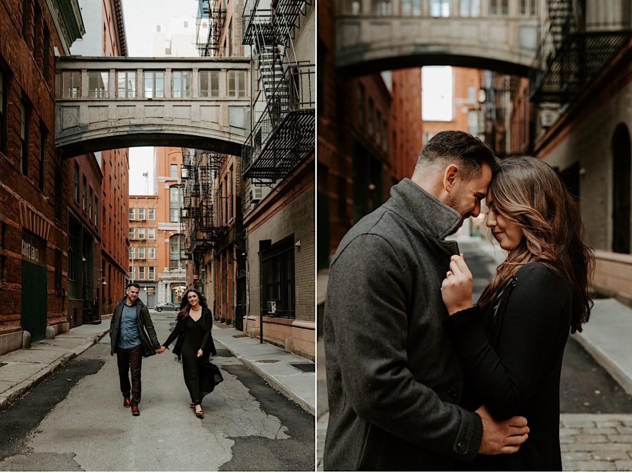Tribeca Engagement Session NYC Engagement Photos New York Wedding Photographer 02