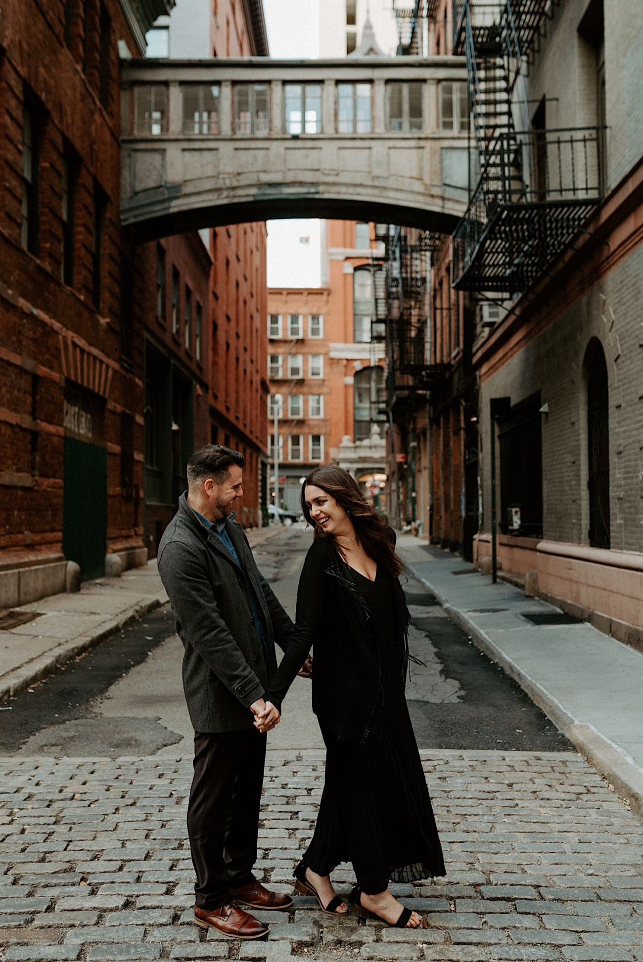 Tribeca Engagement Session NYC Engagement Photos New York Wedding Photographer 03