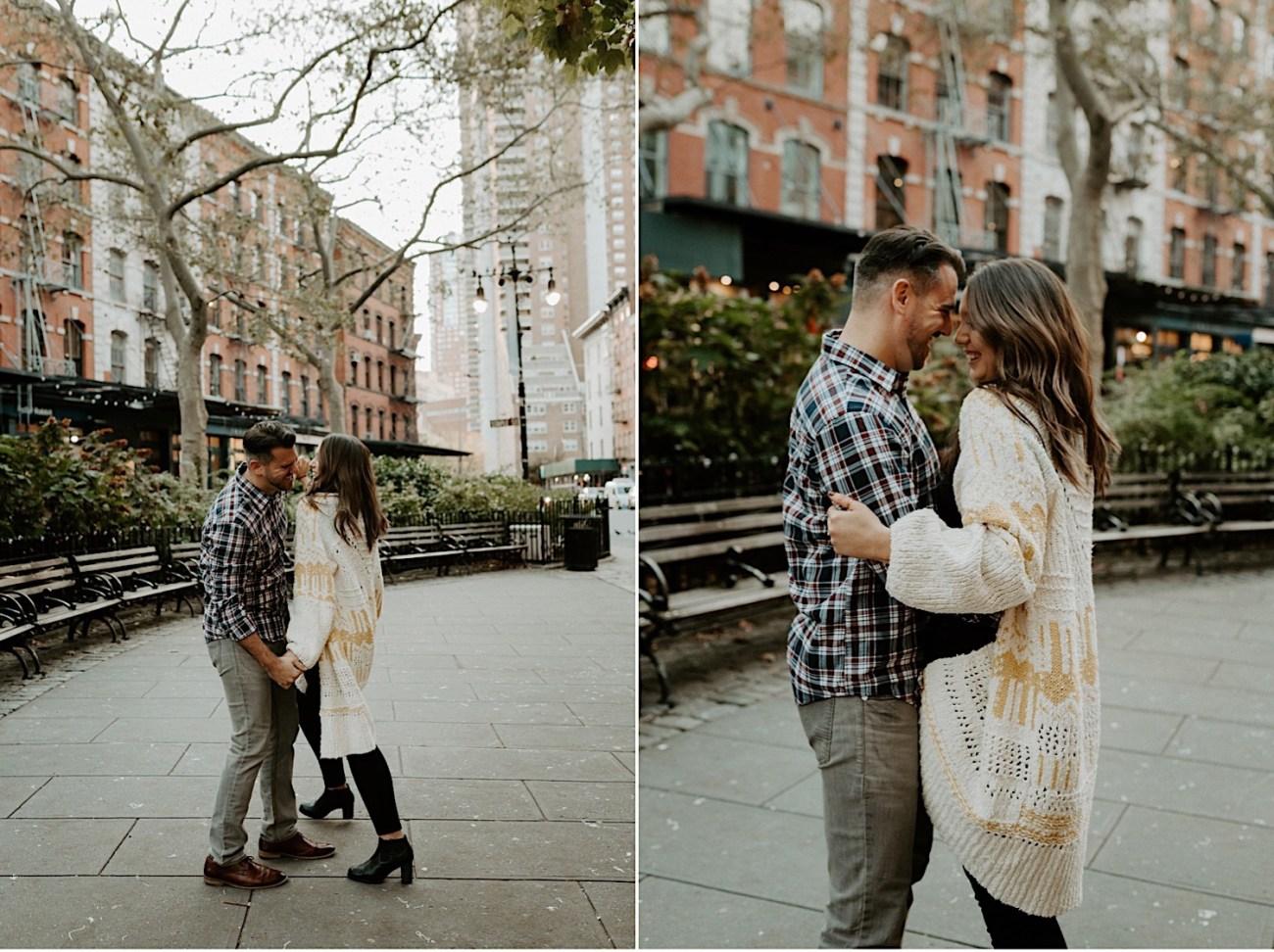 Tribeca Engagement Session NYC Engagement Photos New York Wedding Photographer 17