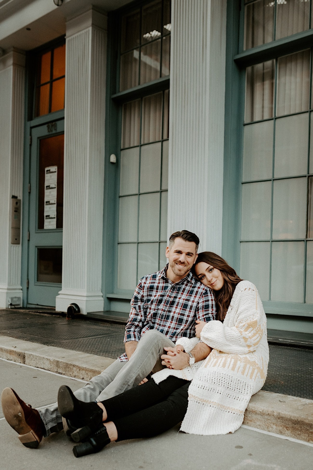 Tribeca Engagement Session NYC Engagement Photos New York Wedding Photographer 18