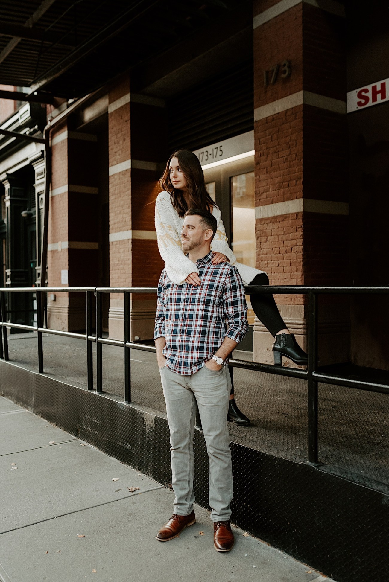 Tribeca Engagement Session NYC Engagement Photos New York Wedding Photographer 20