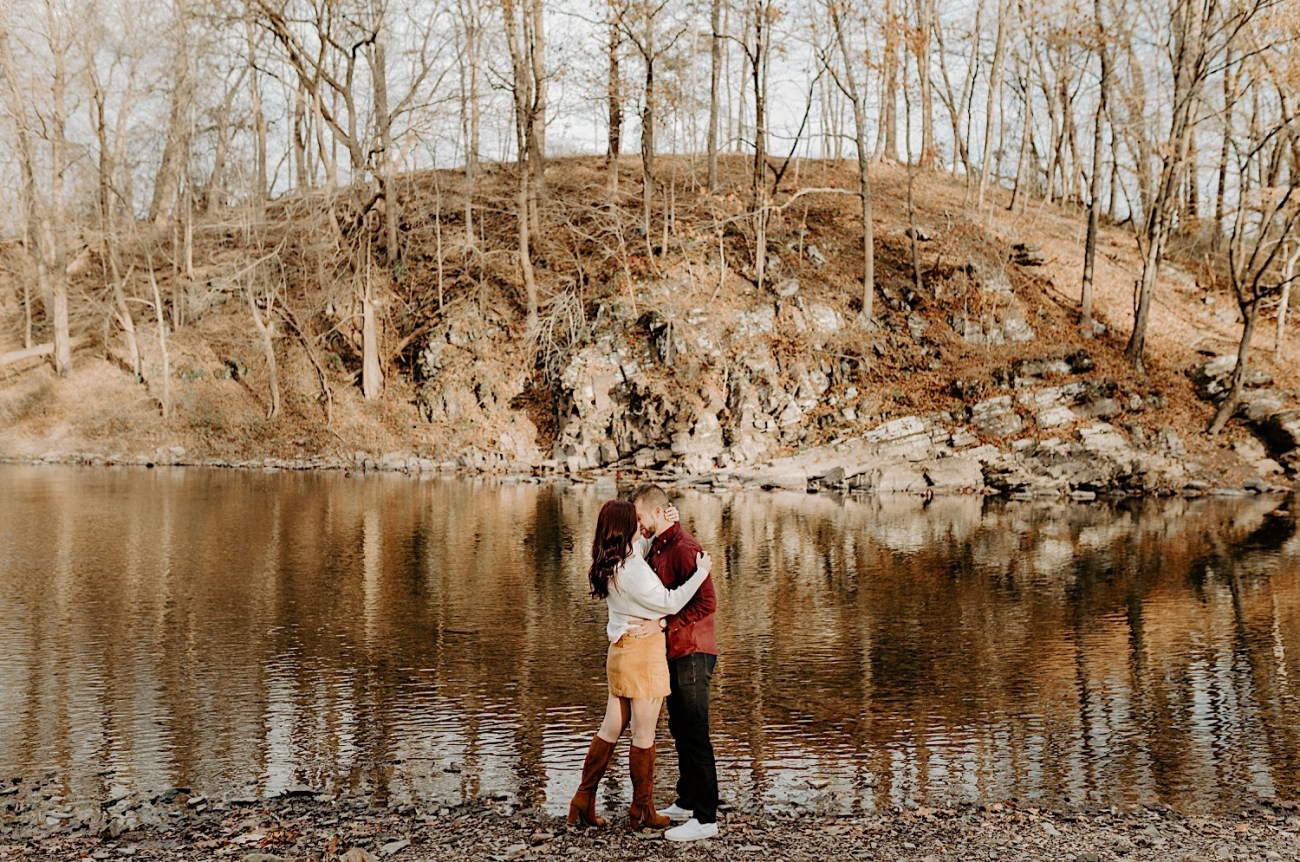 Tyler State Park Engagement Session Philadelphia Wedding Photographer Philadelphia Engagement Session 01