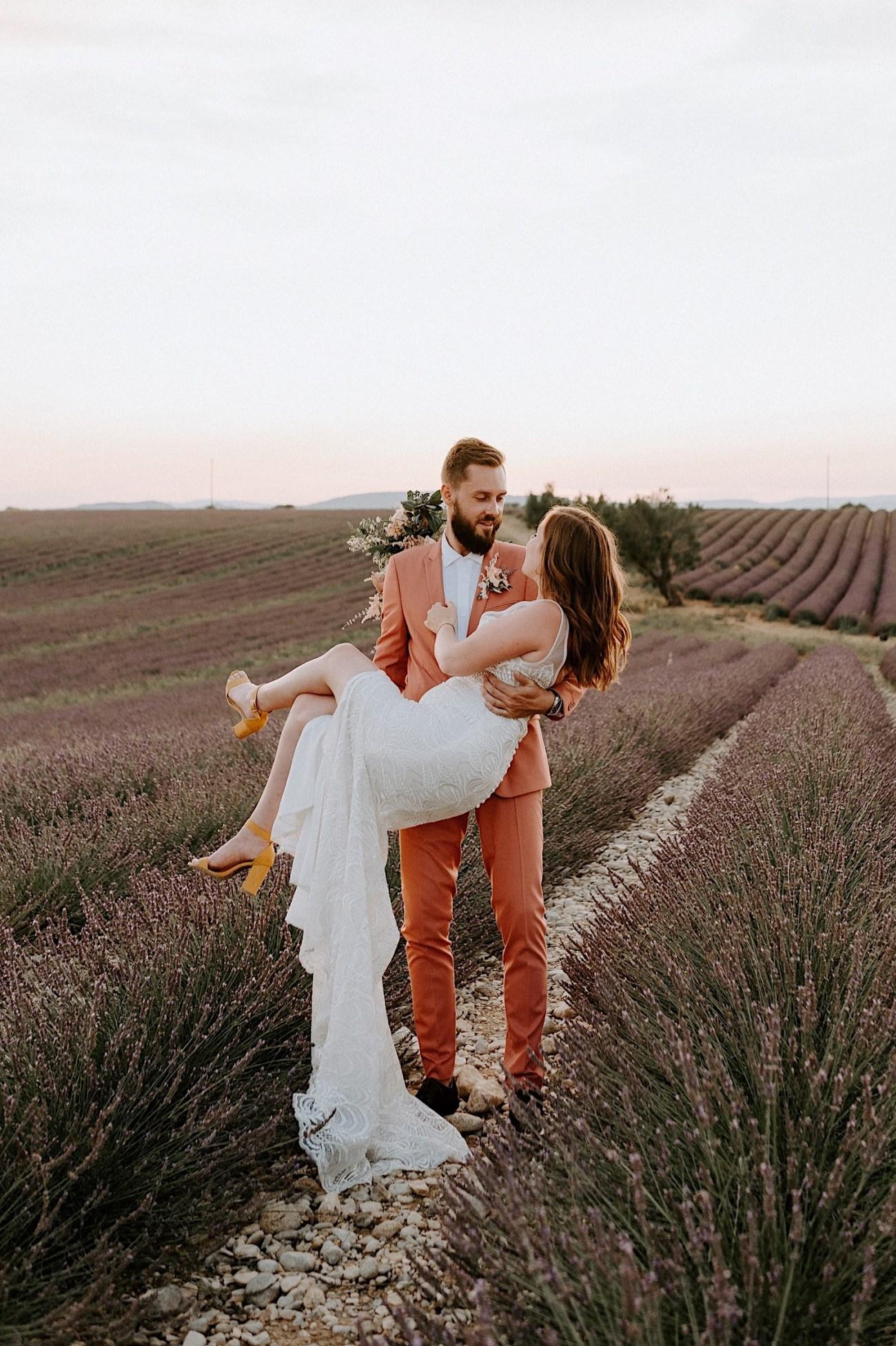 Valensole Wedding Photos Lavender Field Wedding Provence Wedding French Wedding Photographer Destination Wedding France Anais Possamai Photography 05
