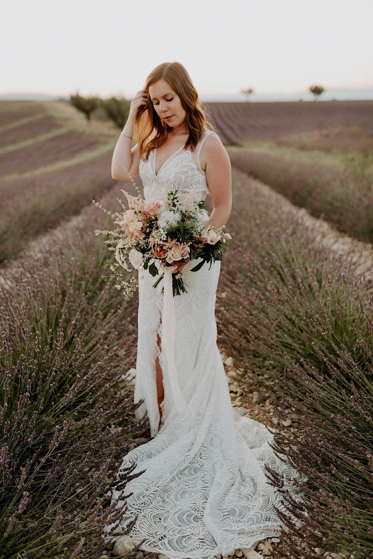 Valensole Wedding Photos Lavender Field Wedding Provence Wedding French Wedding Photographer Destination Wedding France Anais Possamai Photography 11