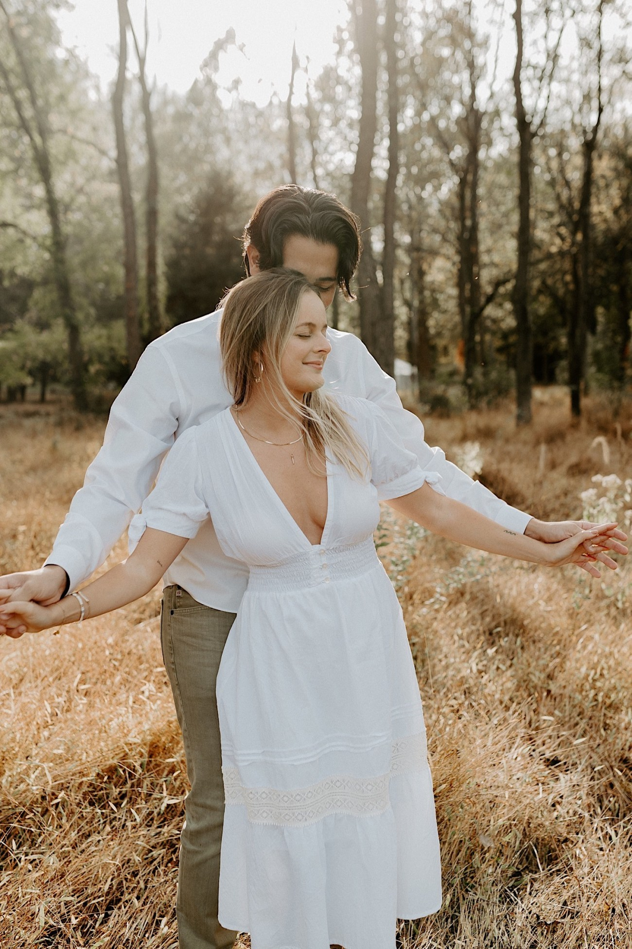 Woolverton Inn Engagement Session Fall Couple Session New Jersey Wedding Photographer 05