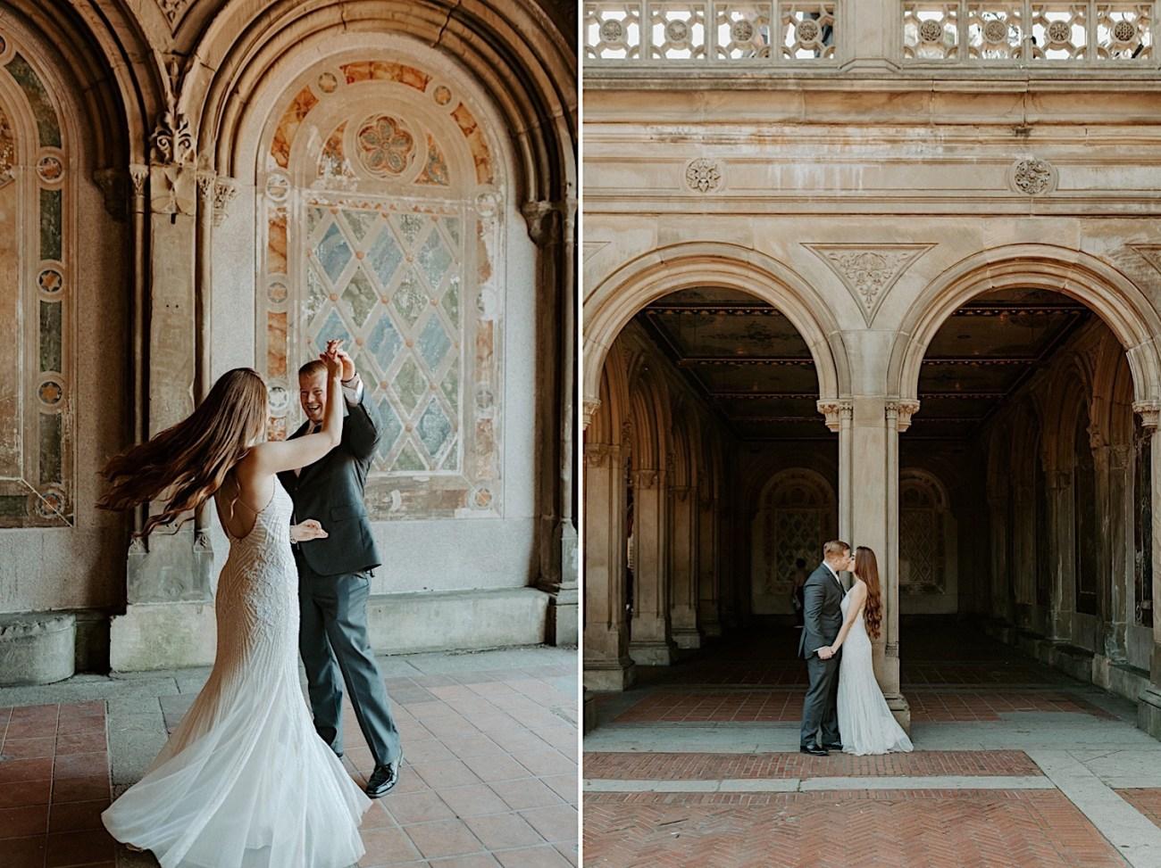 007 Central Park Elopement Bethesda Fountain Wedding Photos New York Wedding Photographer Central Park Wedding Photos