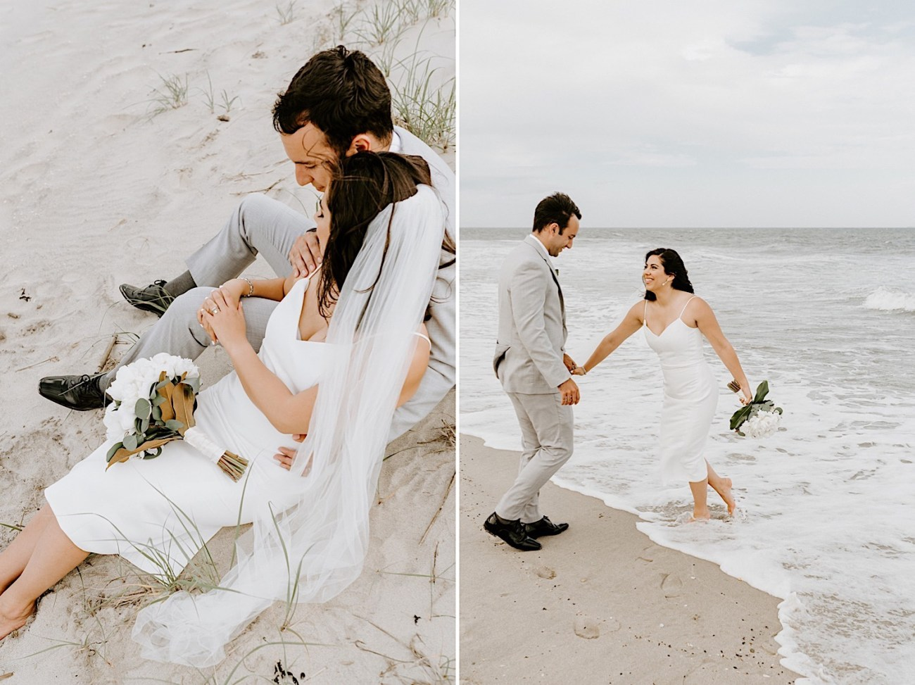 023 Sea Bright Wedding Beach Wedding Photos New Jersey Shore Wedding Nj Wedding Photographer Beach Elopement Photos