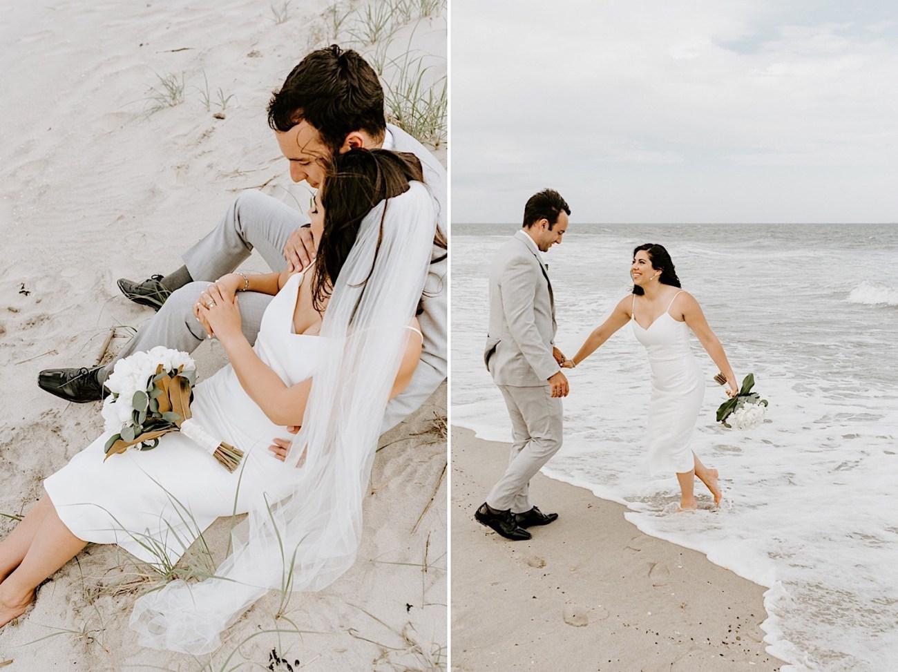 023 Sea Bright Wedding Beach Wedding Photos New Jersey Shore Wedding Nj Wedding Photographer Beach Elopement Photos
