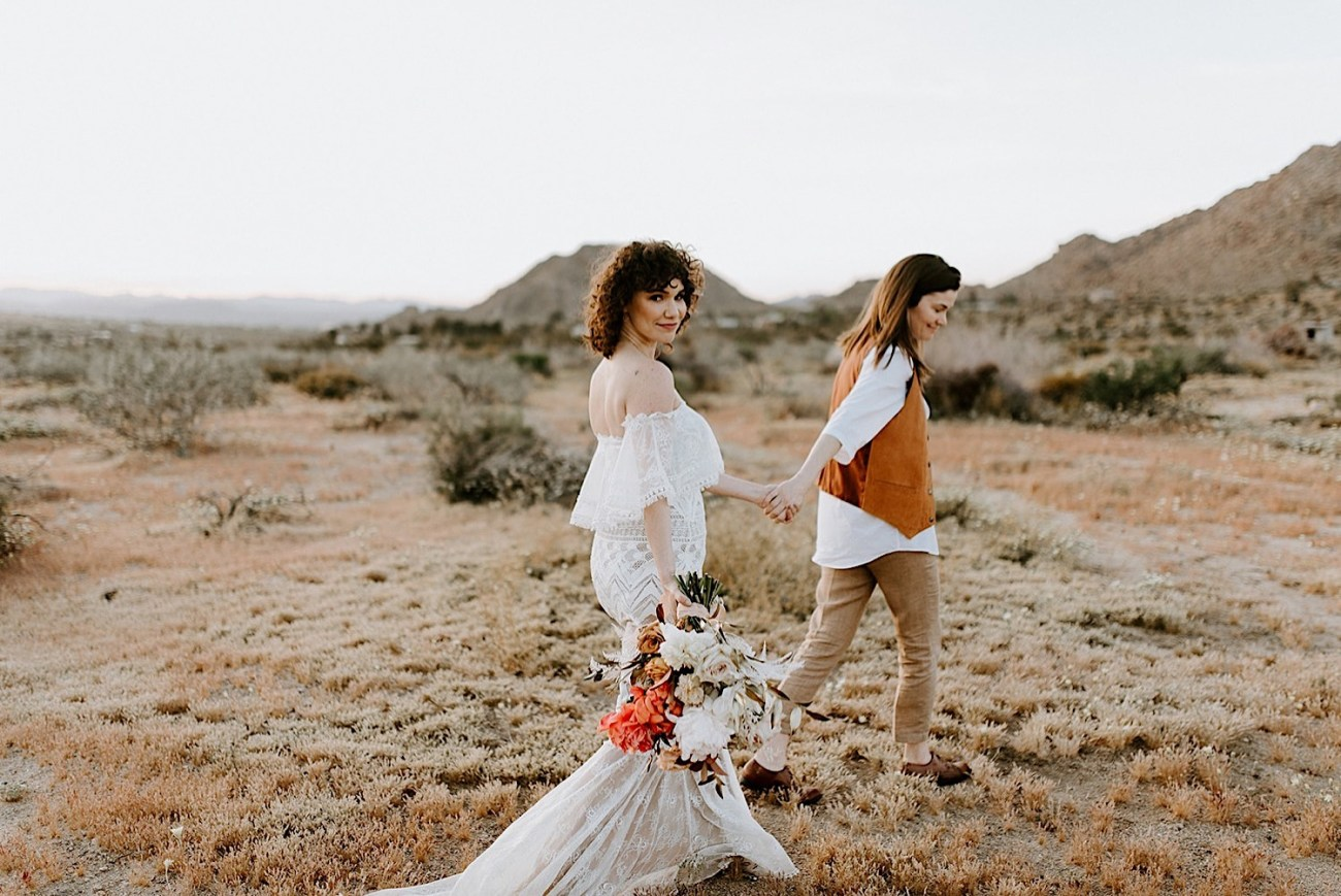 038 Joshua Tree Elopement Palm Springs Wedding California Wedding Photographer
