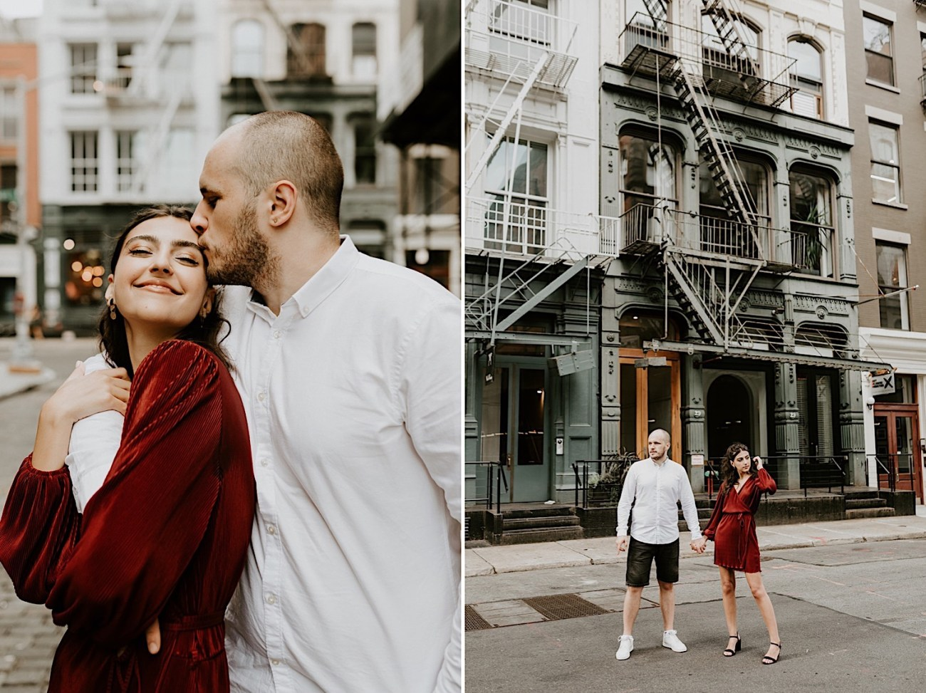 039 Soho Engagement Photos NYC Wedding Photographer New York Enagement Photos
