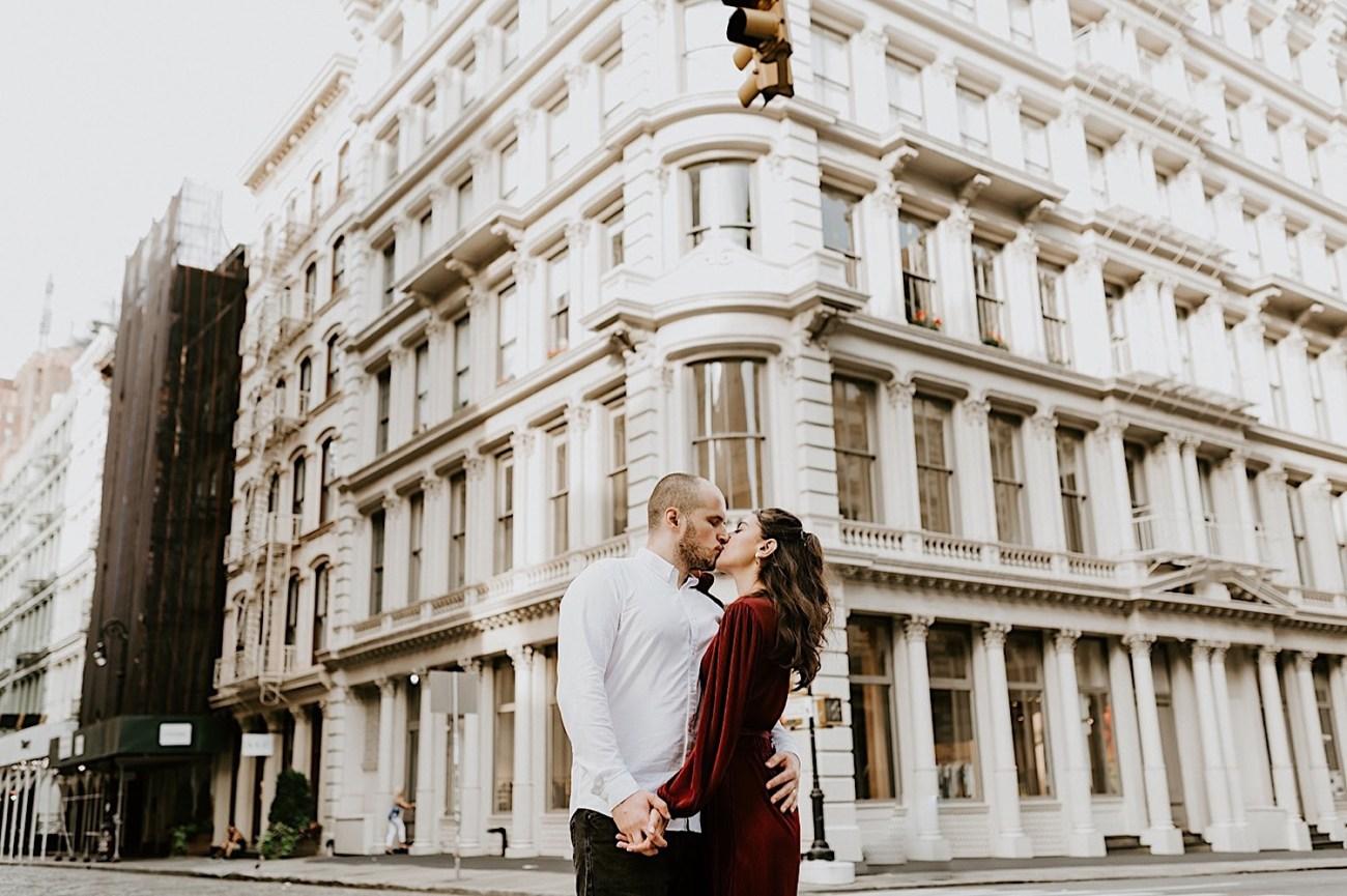 042 Soho Engagement Photos NYC Wedding Photographer New York Enagement Photos