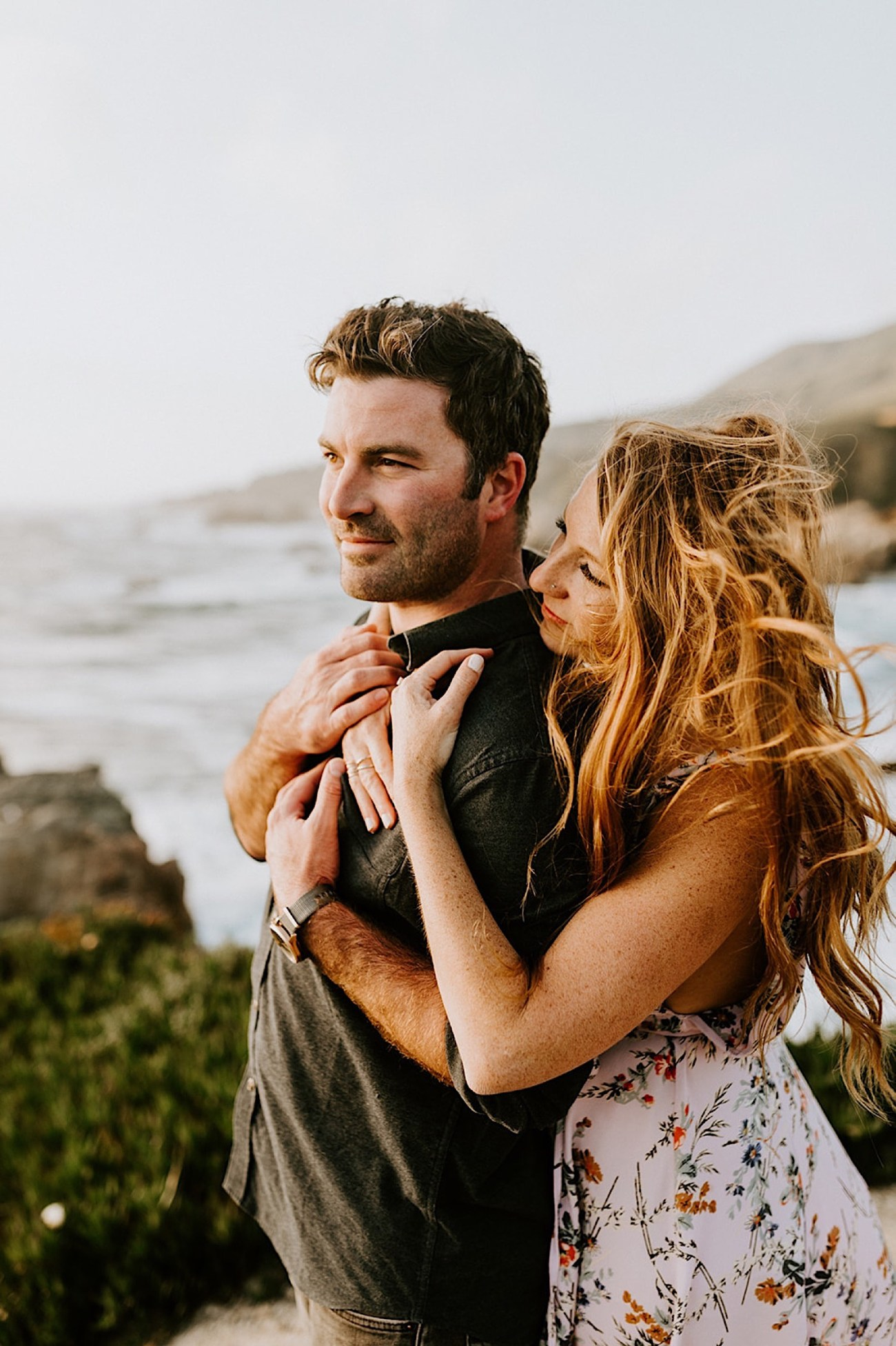 063 Big Sur California Engagement Photos California Wedding Photographer Big Sur San Francisco Wedding Photographer