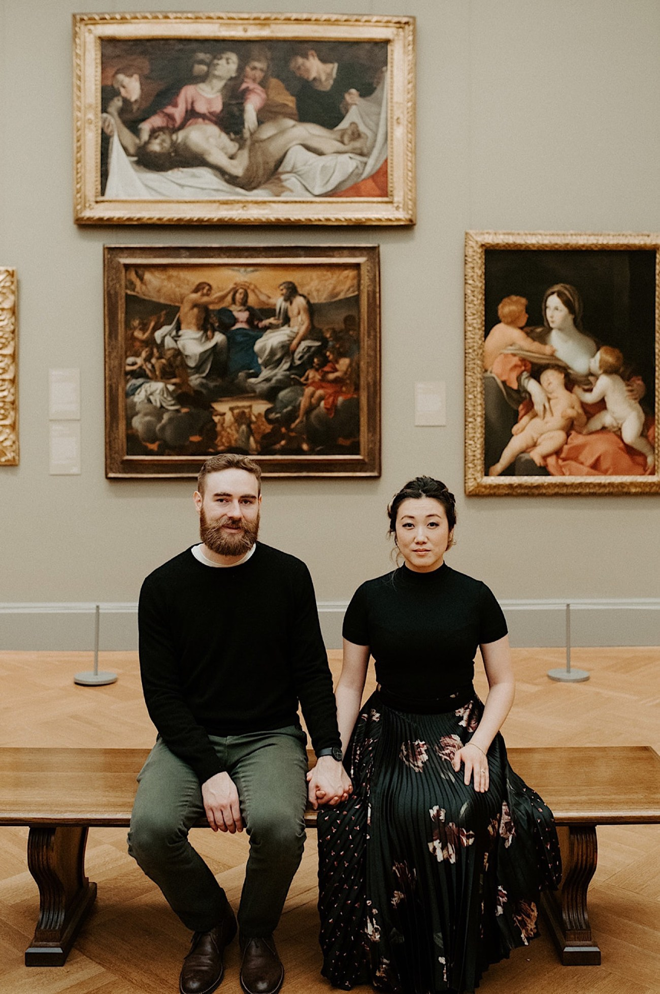 082 JThe Met Museum Engagement Photos New York Wedding Photographer