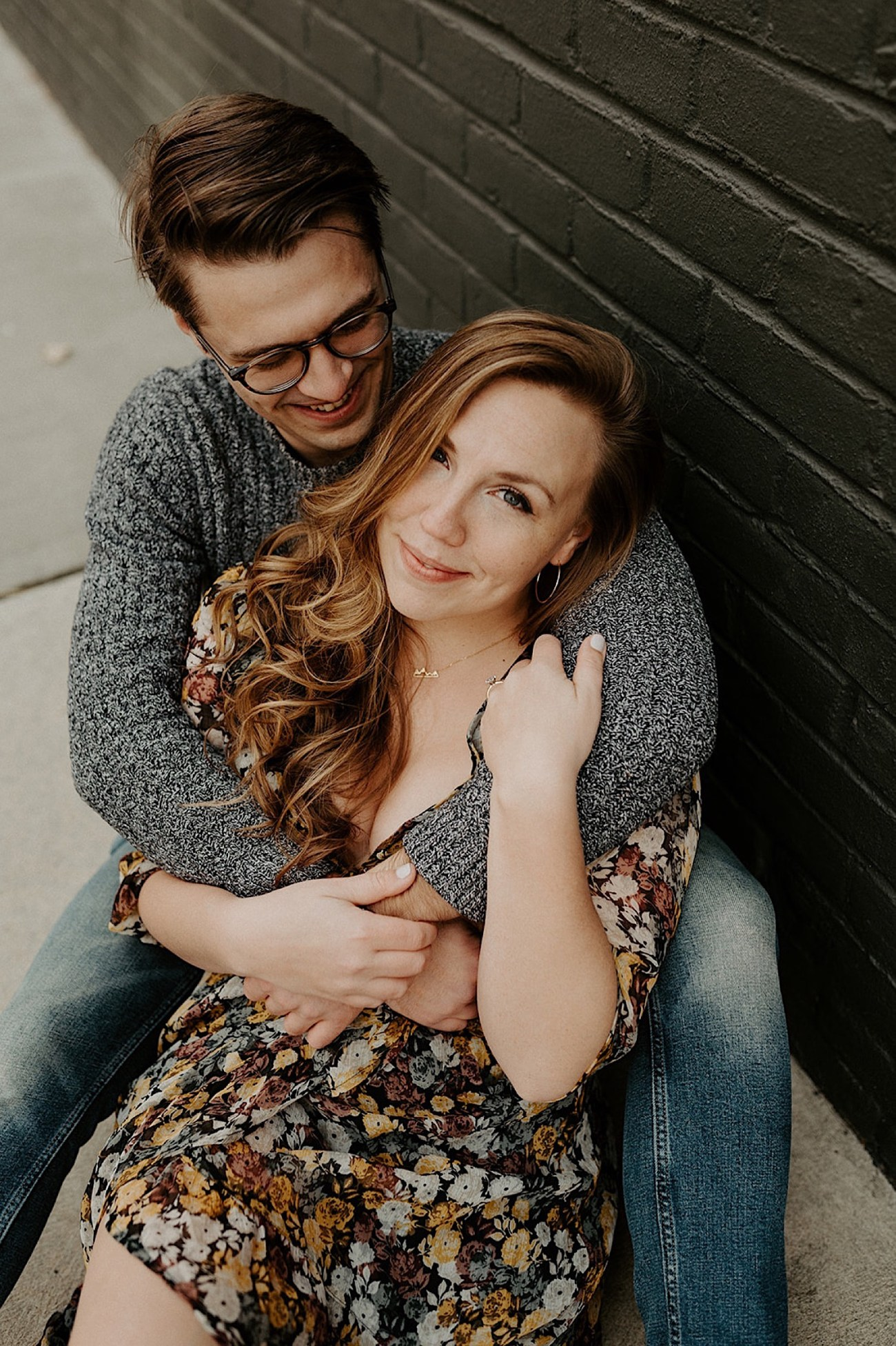 120 LIC Engagement Photos In Home Engagement Photos Brooklyn Wedding Photographer