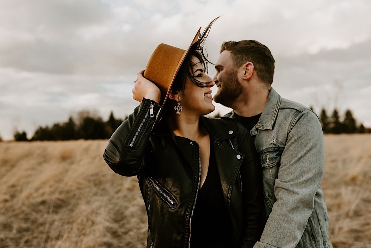 142 Motorbike Engagement Photos Winter Engagement Photos NJ Wedding Photographer
