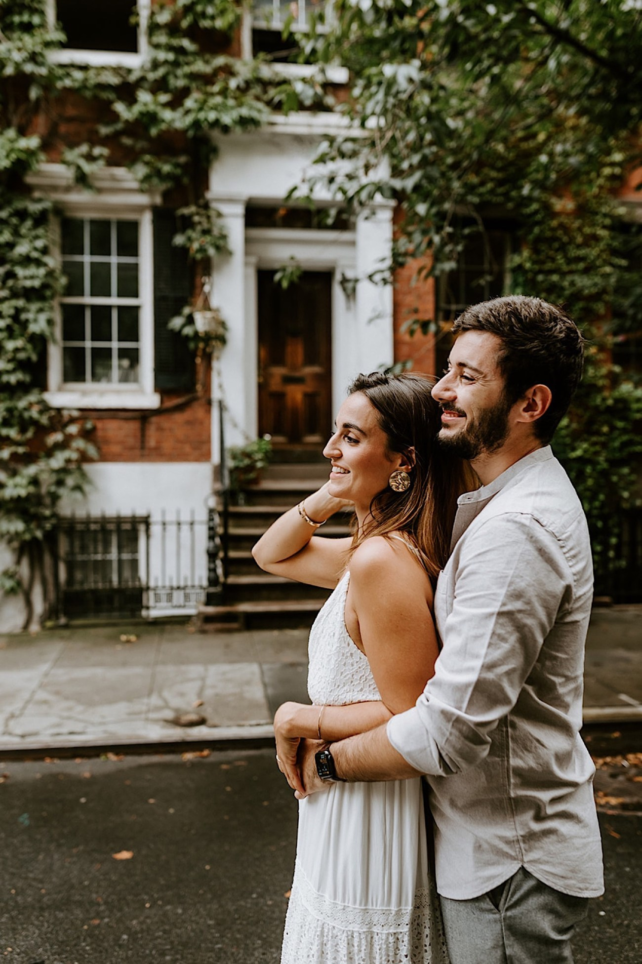 161 Greenwich Village Engagement Photos New York City Engagement Photos NYC Wedding Photographer