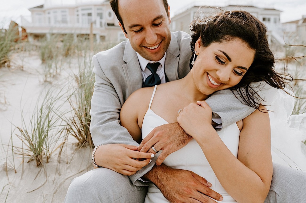 162 Sea Bright Wedding Beach Wedding Photos New Jersey Shore Wedding Nj Wedding Photographer Beach Elopement Photos