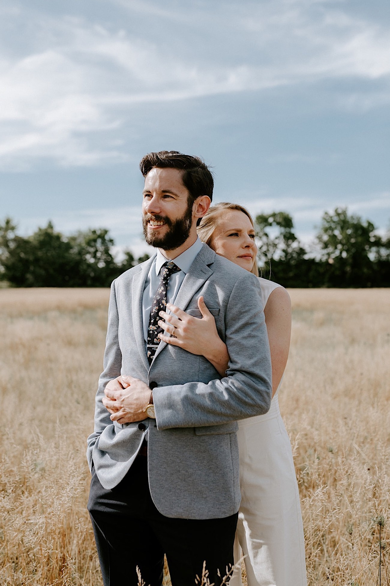 169 Backyard Wedding New Jersey Wedding Photographer Summer Elopement
