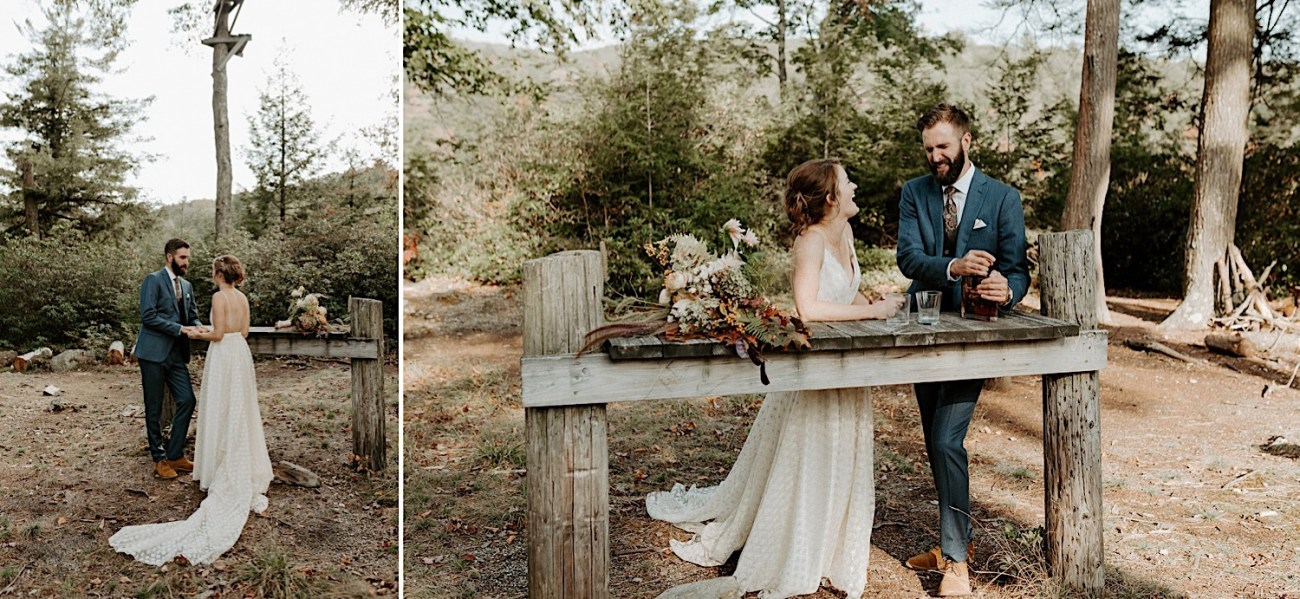 Why You Should Consider A First Look Mt Washington Wedding Lakeside Wedding 003