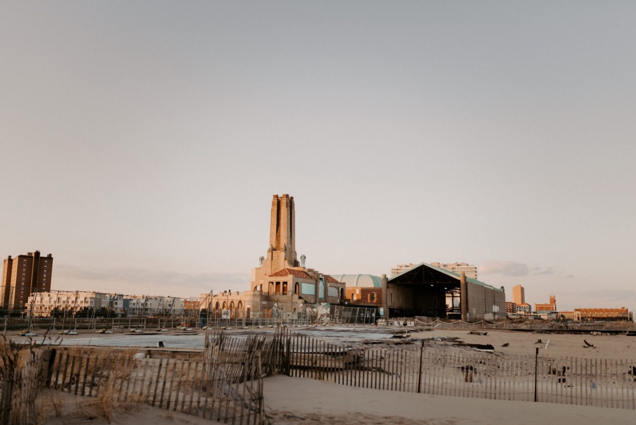 Asbury Park Engagement Photos Winter Beach Engagement Session New Jersey Wedding Photographer Anais Possamai Photography 024
