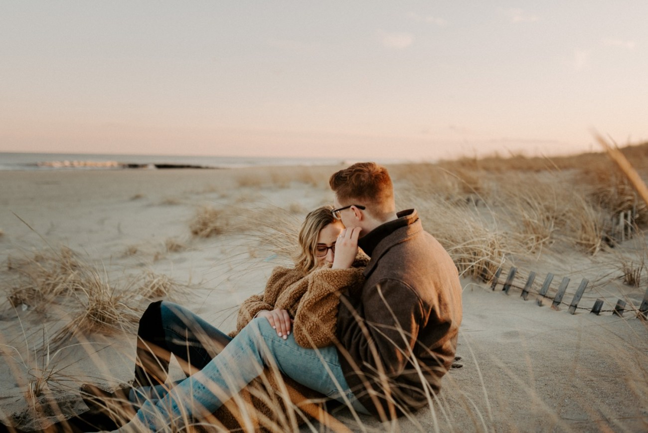 Asbury Park Engagement Photos Winter Beach Engagement Session New Jersey Wedding Photographer Anais Possamai Photography 029
