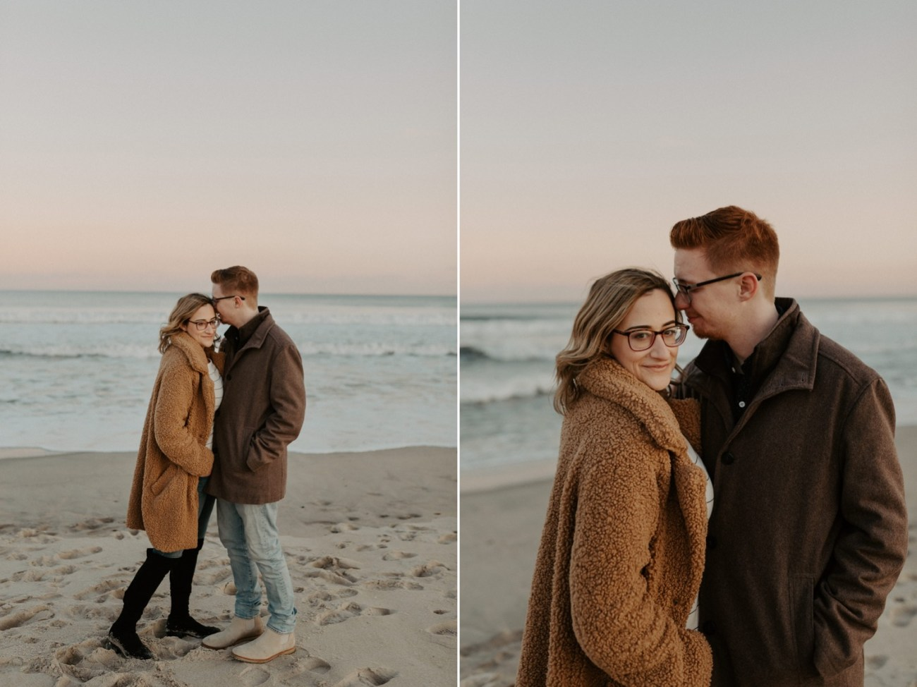 Asbury Park Engagement Photos Winter Beach Engagement Session New Jersey Wedding Photographer Anais Possamai Photography 035
