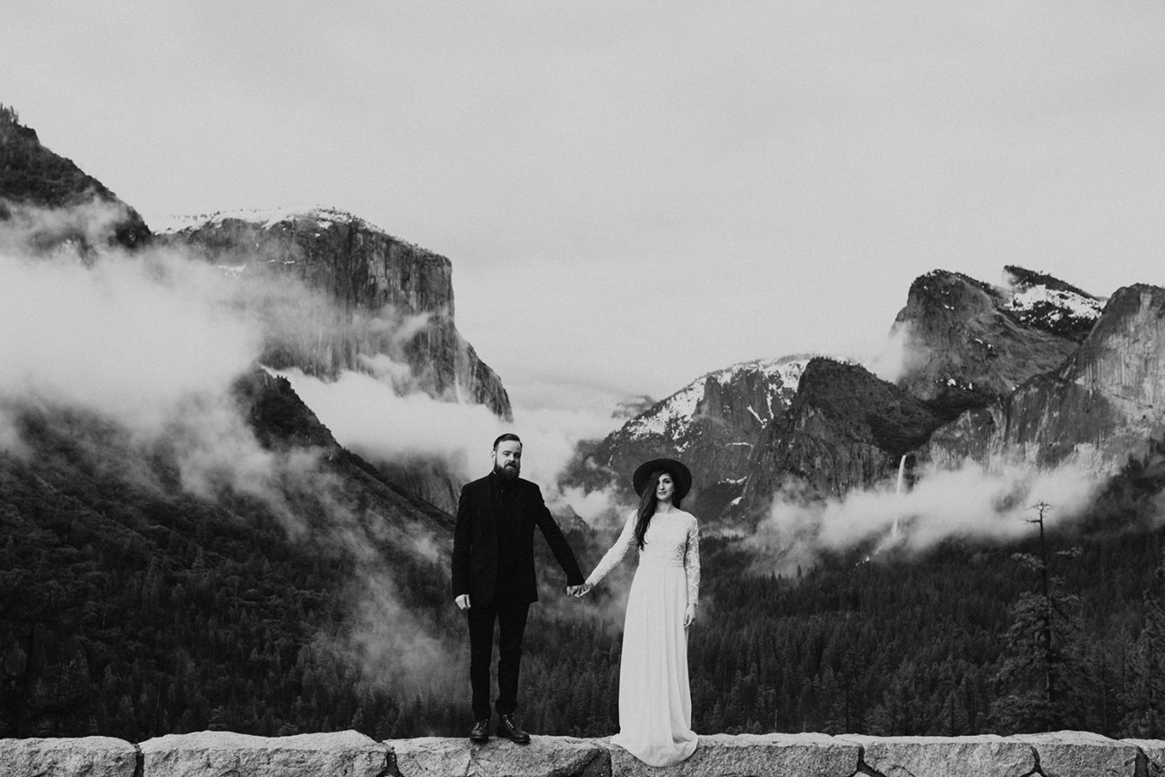 Yosemite Elopement California Wedding Pnw Wedding Photographer Oregon Wedding Photographer Adventurous Elopement 025